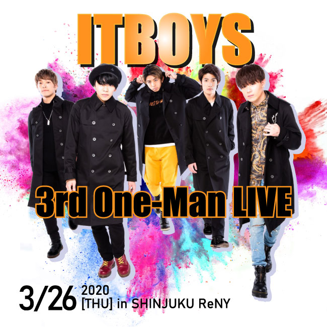 ITBOYS 3rd One-Man LIVE(一般販売)